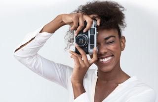 Meet a new Photographer Website Concept!