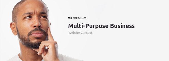 First Multi-Purpose Concept on Weblium Released!