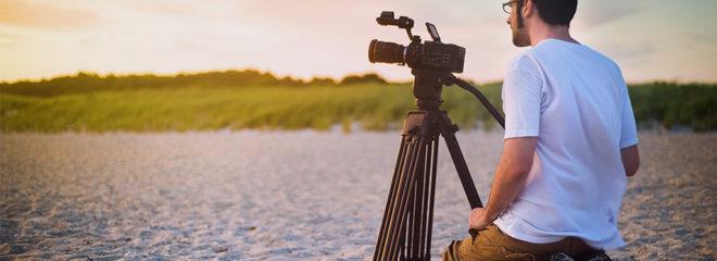 Introducing Videographer Website Concept