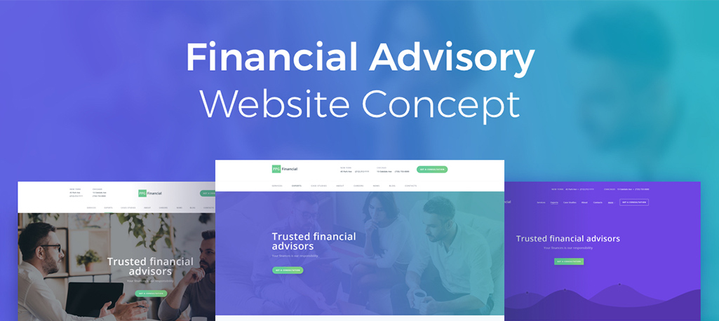 Financial Advisory Concept Released!
