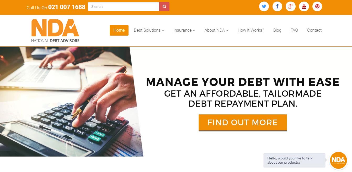 Best financial advisor websites in Africa