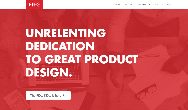 intelligent solutions website - weblium
