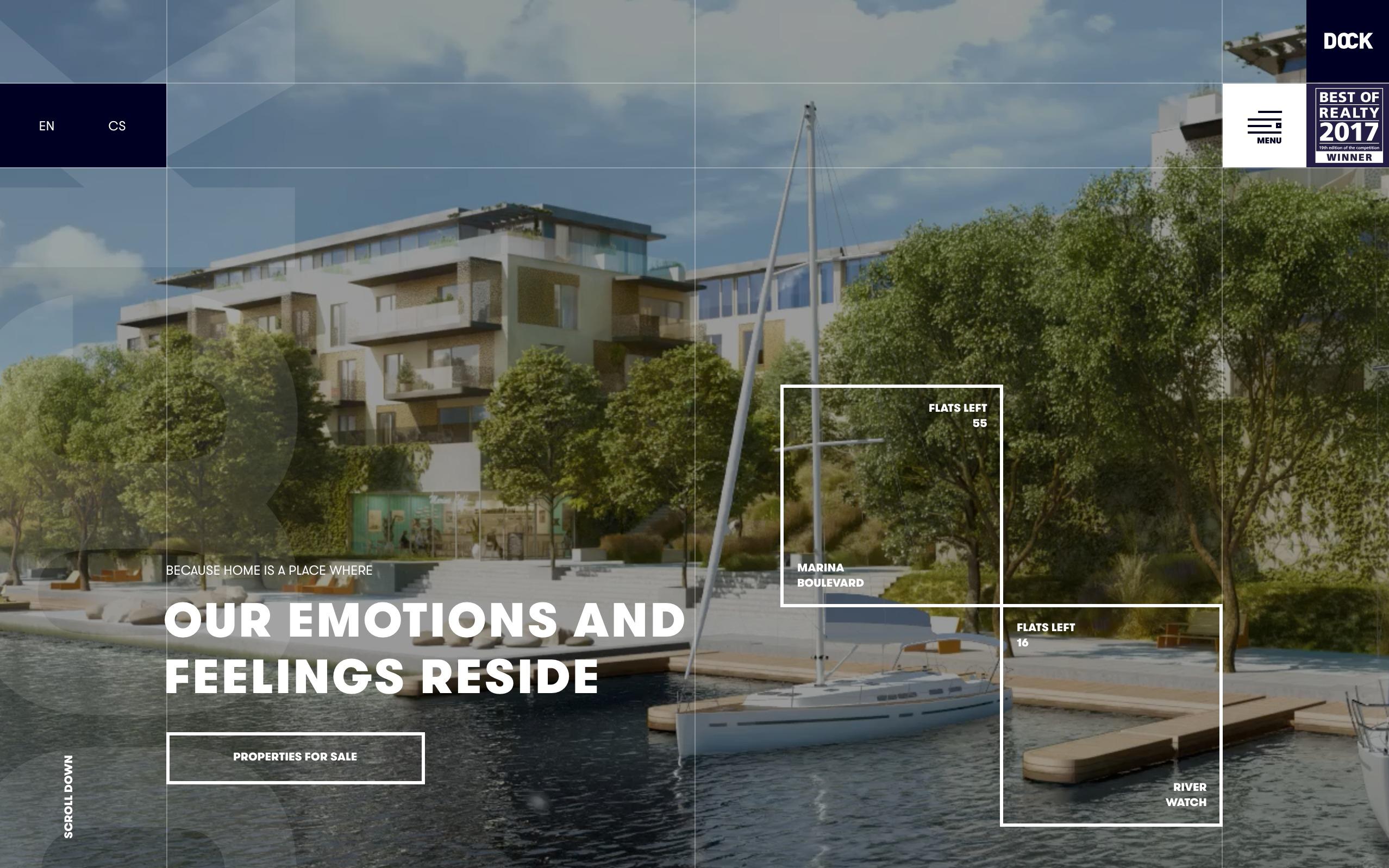 best architecture firm websites. Dock
