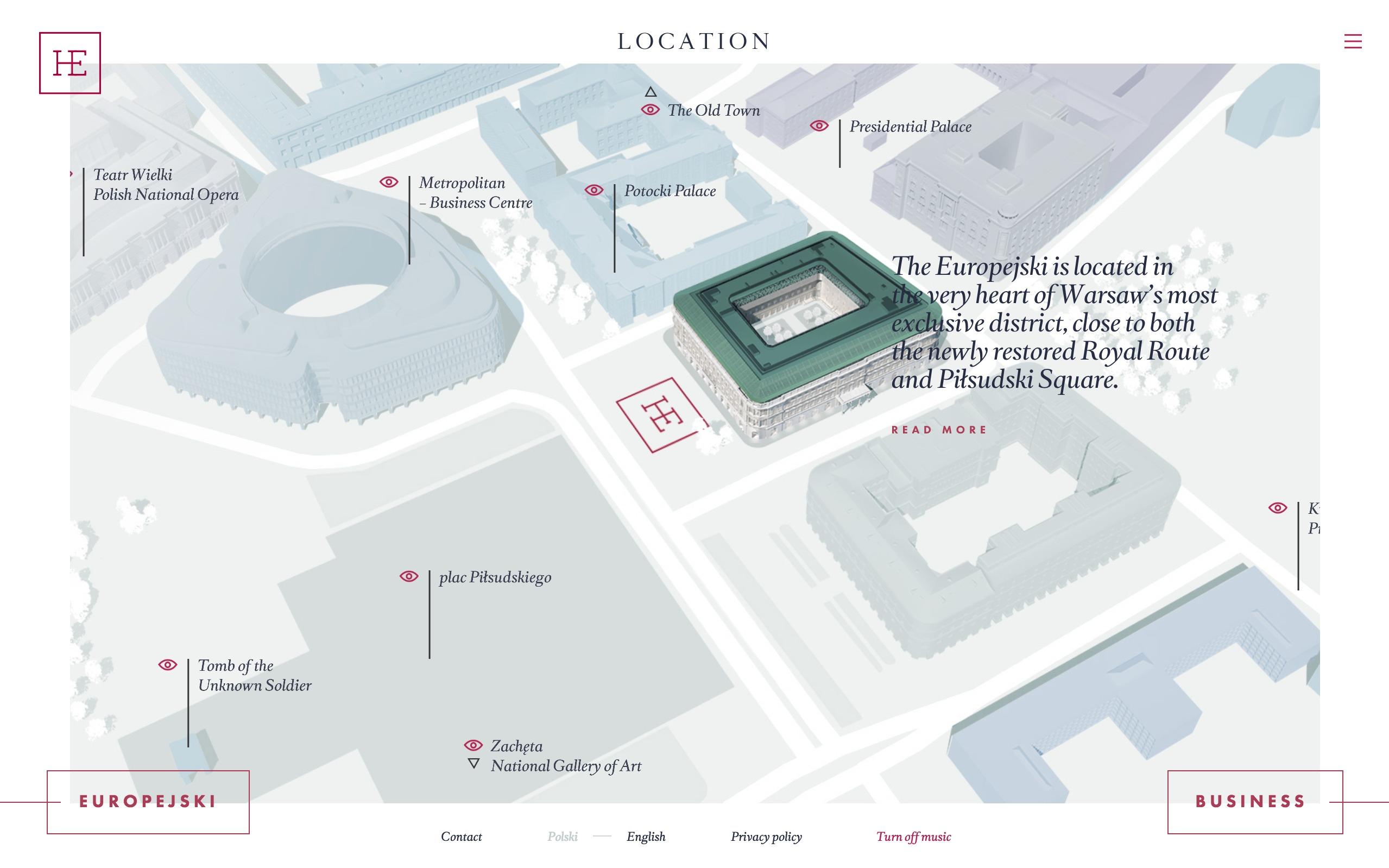 best architecture firm websites. europejski