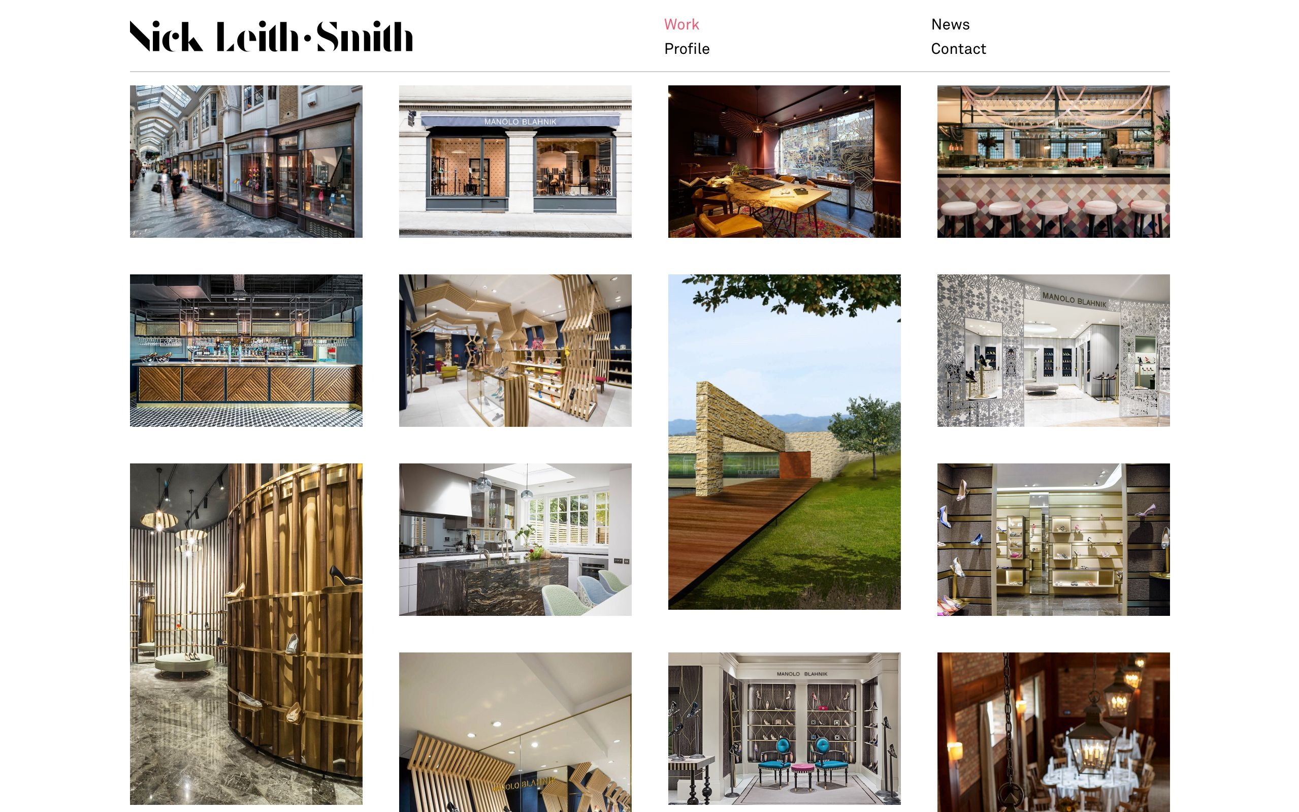 best architecture firm websites. nick leith smith