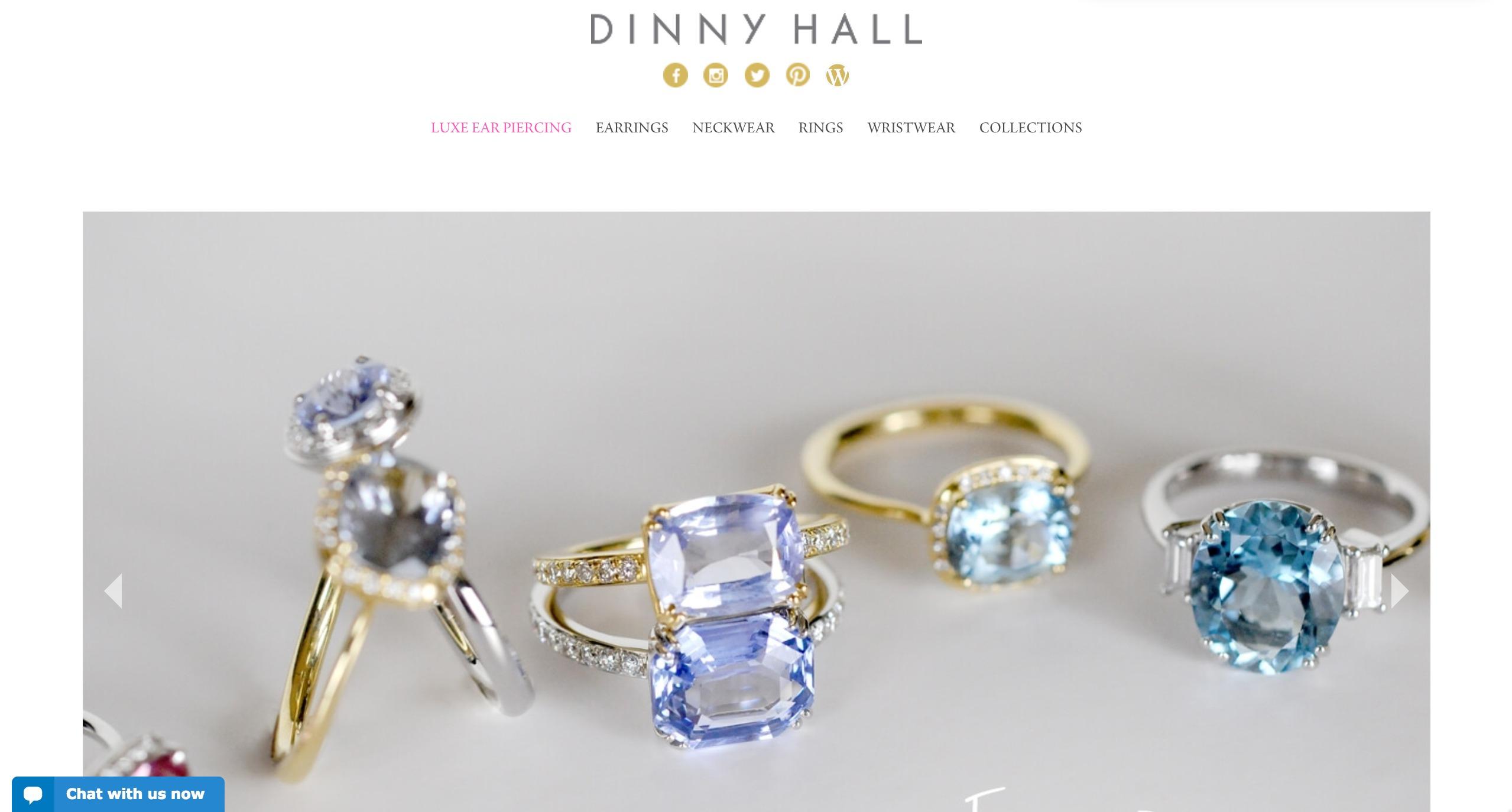 dinny hall - weblium