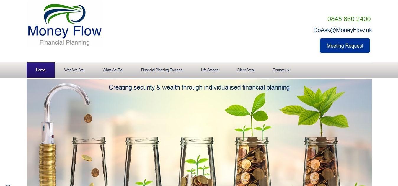 Money Flow Website - weblium
