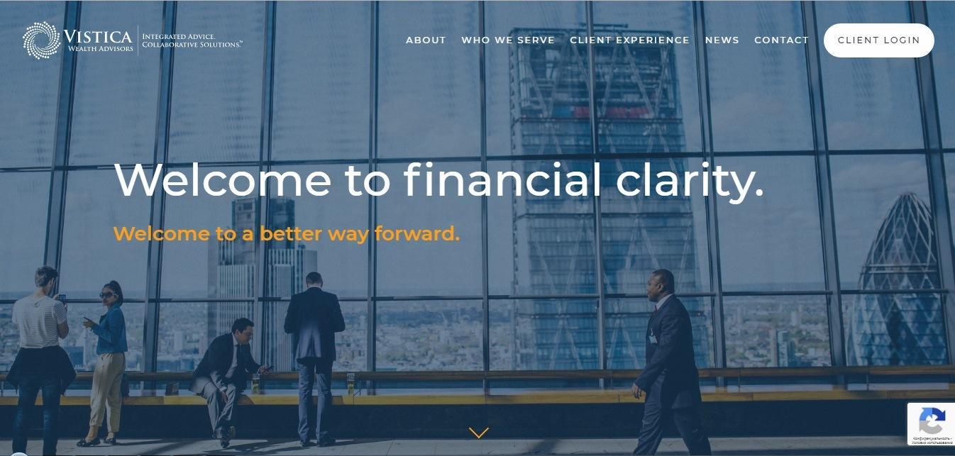 Vistica Wealth Advisors company - Weblium