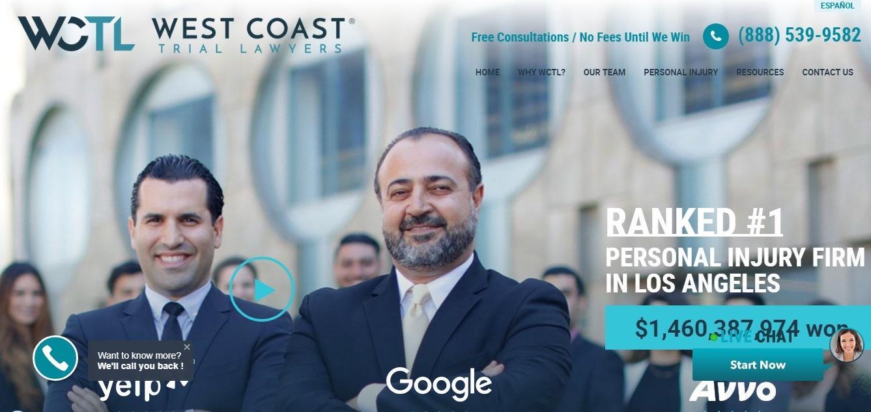 west coast - weblium website builder