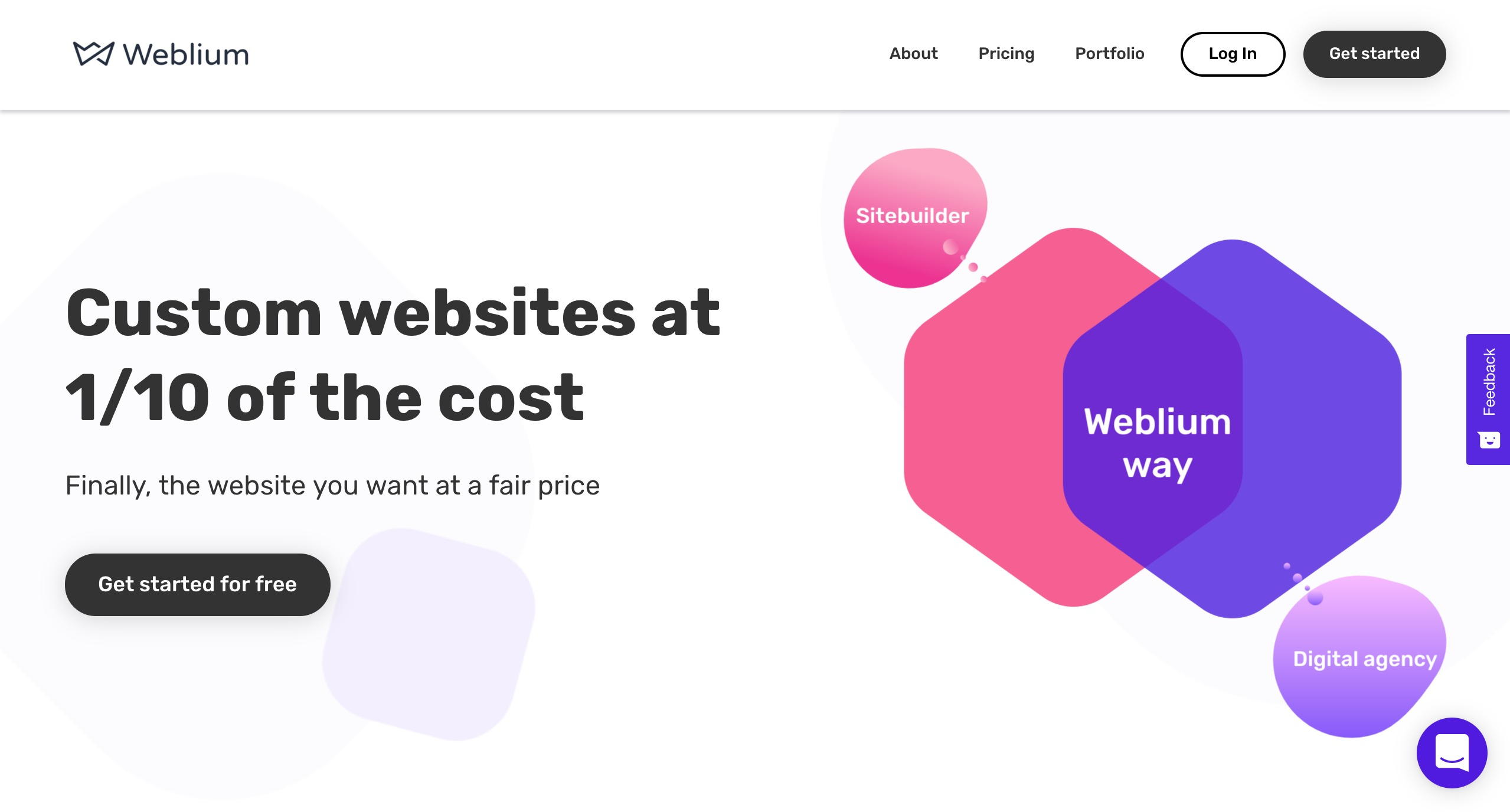 Weblium do-it-for-me website builder