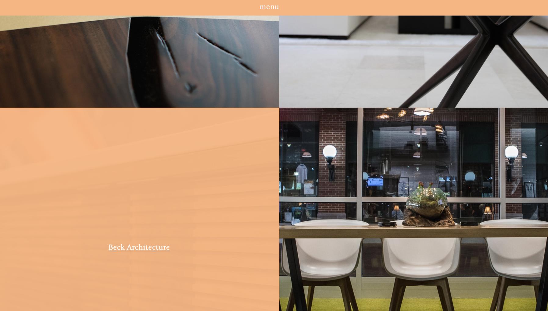 Built Things: one page website design example - Weblium