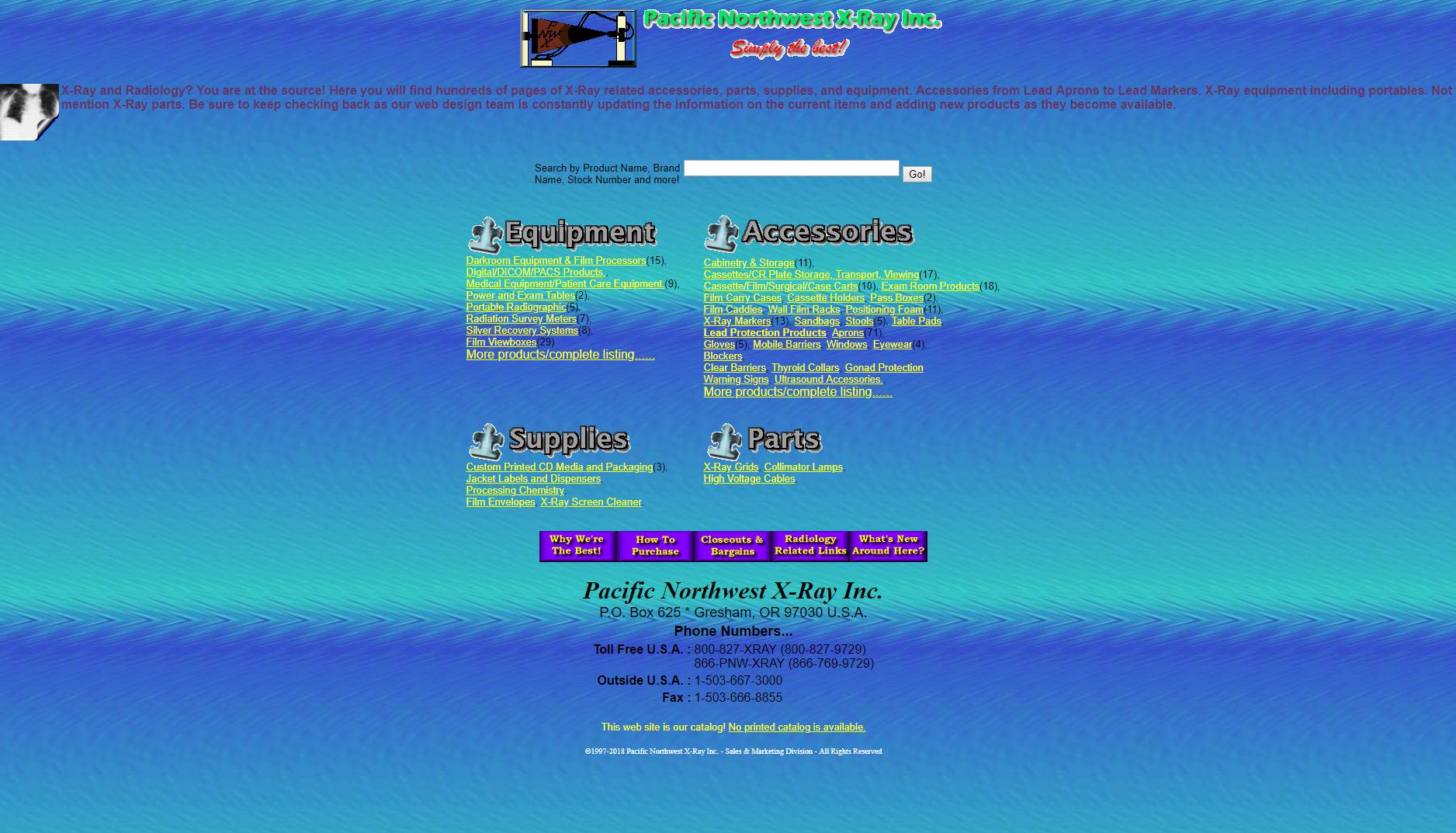 bad desigbed website example