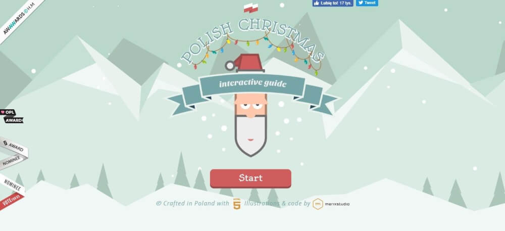 Polish Christmas guide website