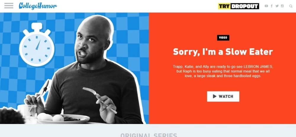 funny website design 2019 - weblium