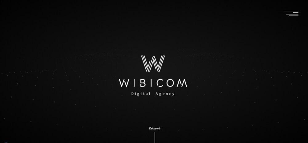 modern website design example - weblium blog