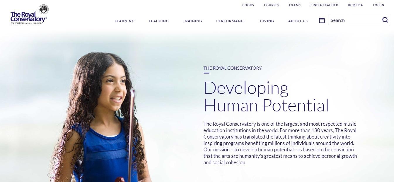 Royal conservancy website