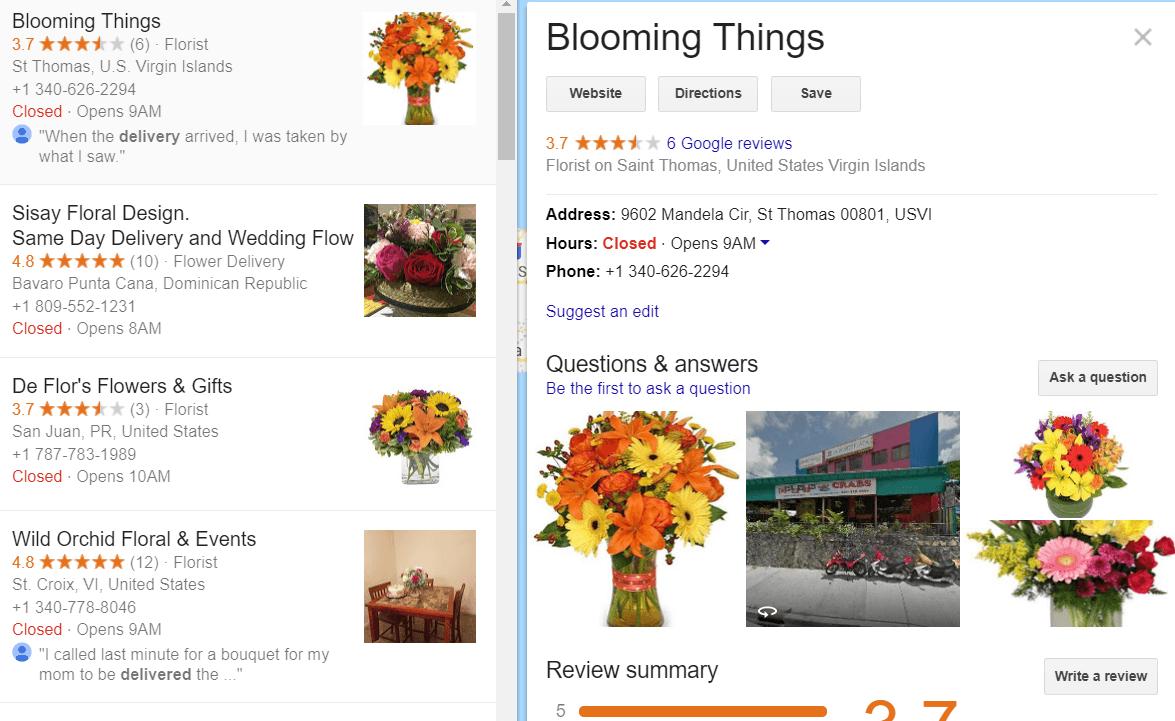 Google My Business tool   weblium blog