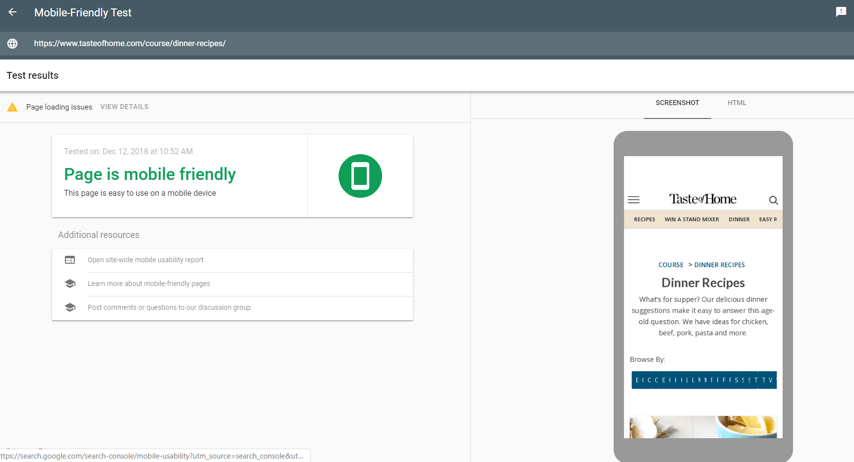 Search Console's Mobile-Friendly Test tool: Weblium Blog