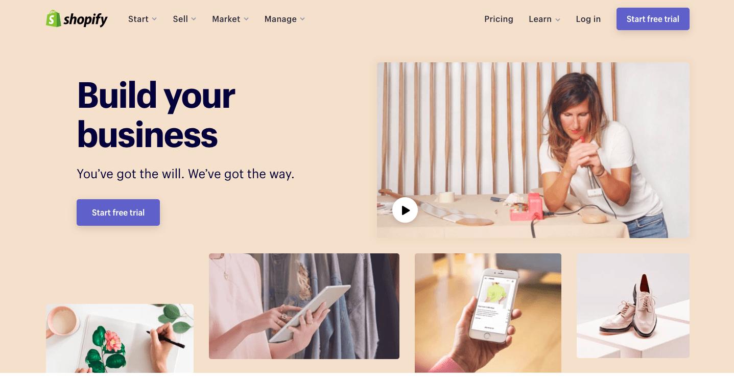 Shopify - weblium blog