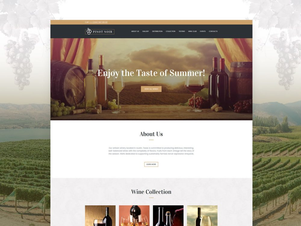 Winery template