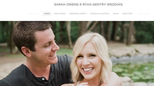 weebly wedding website examples - weblium blog