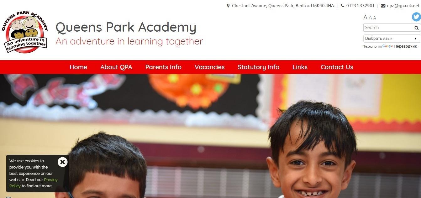 school website examples - weblium blog