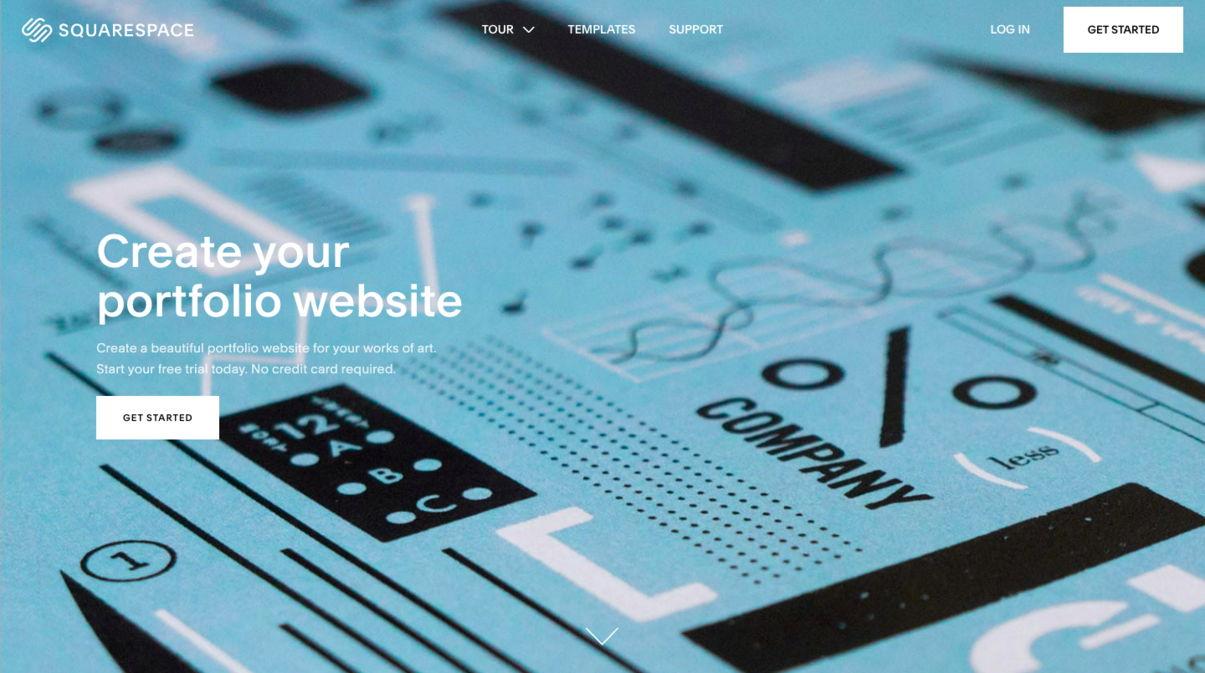 Squarespace interior design portfolio - weblium blog