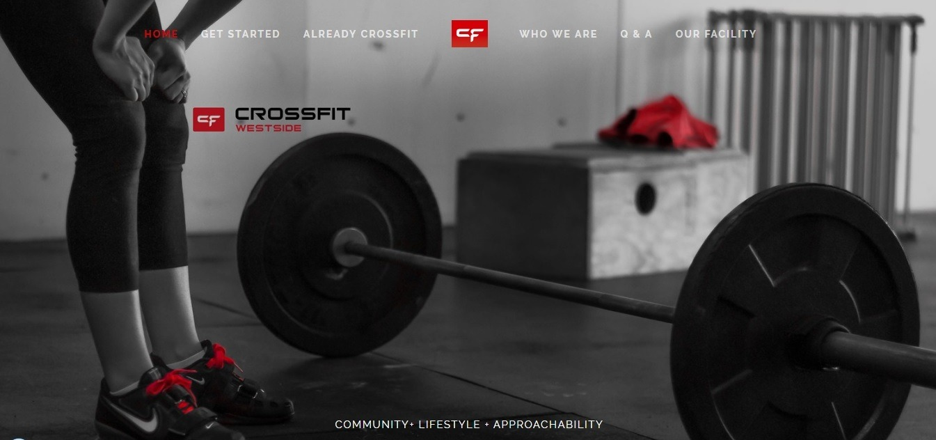 best fitness website examples - weblium blog
