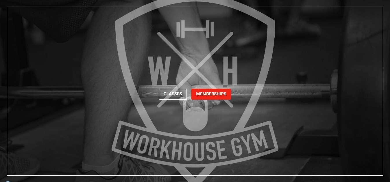 fitness website examples - weblium blog