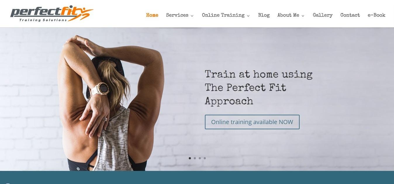 fitness website examples - weblium
