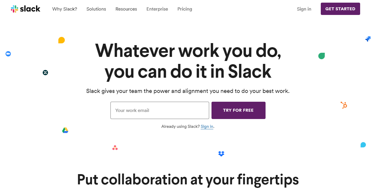 Slack value proposition - weblium blog