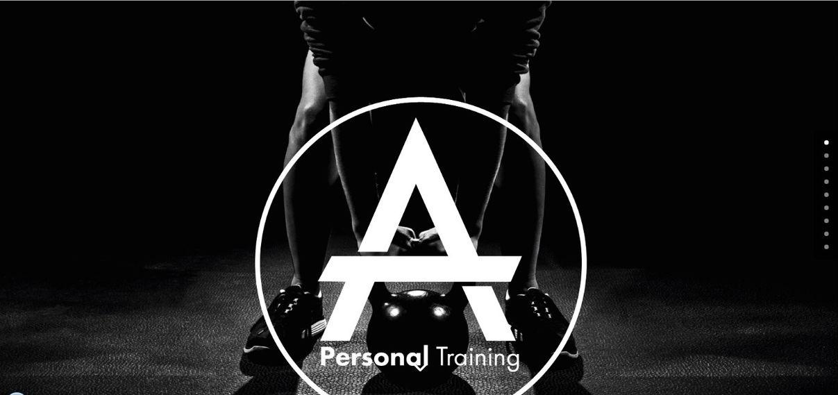 fitness website design - weblium