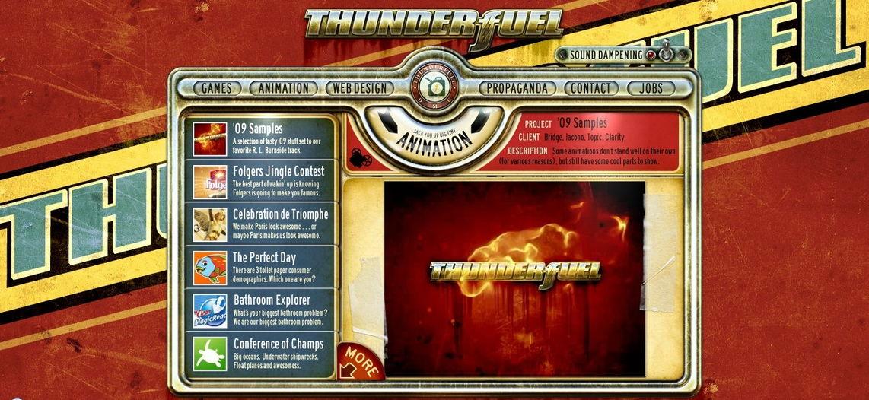 ThunderFuel retro design examples