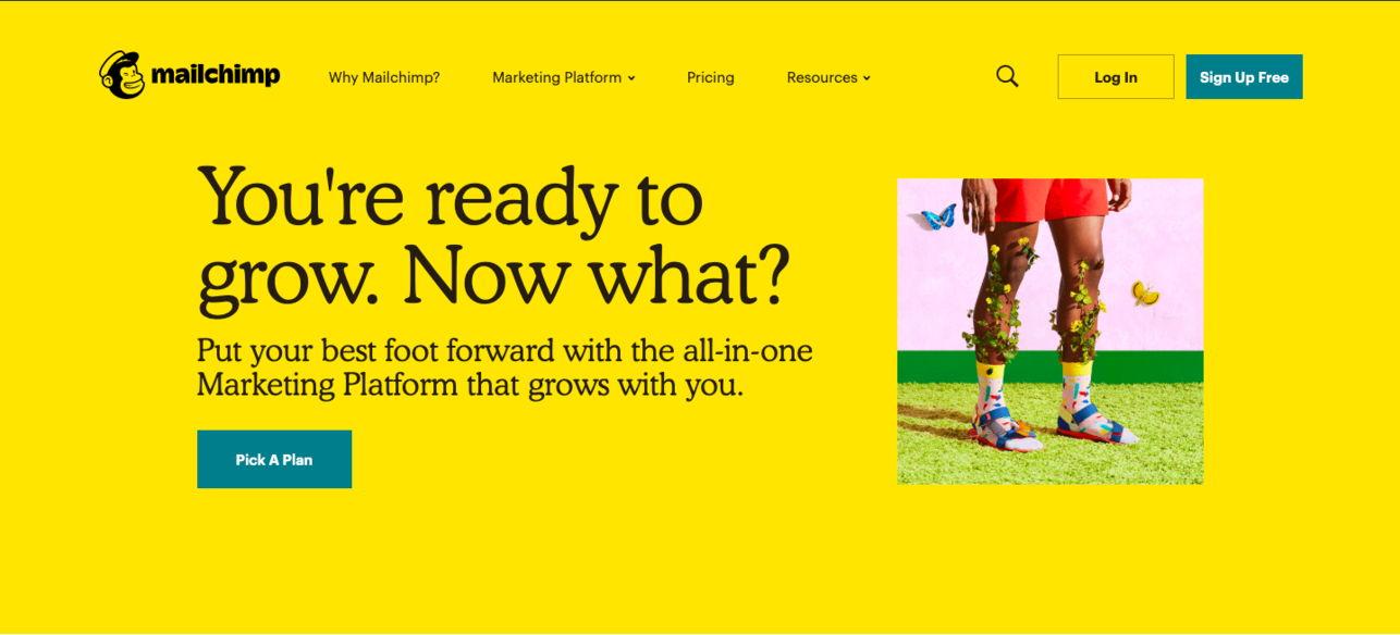 website redesign - weblium blog