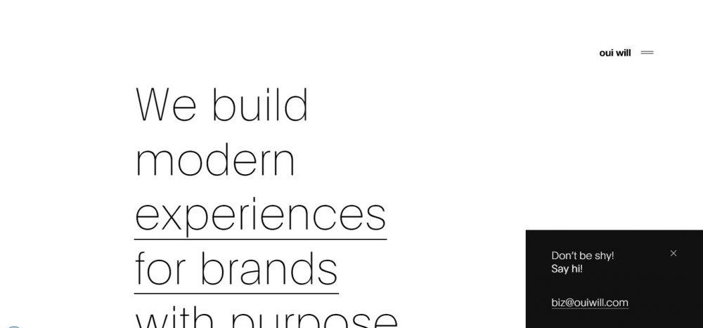 business portfolio examples - weblium