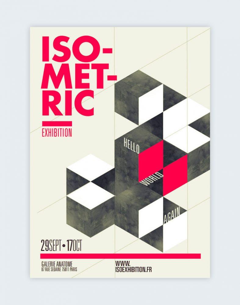 Creating isometric patterns