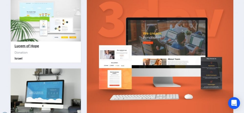 business portfolio examples