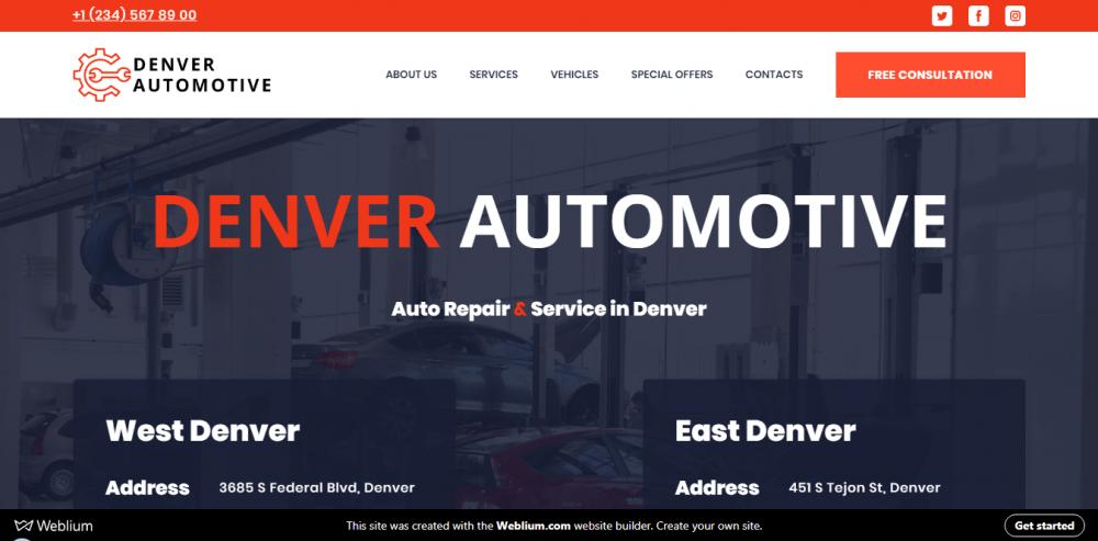 Denver Automotive - car examples