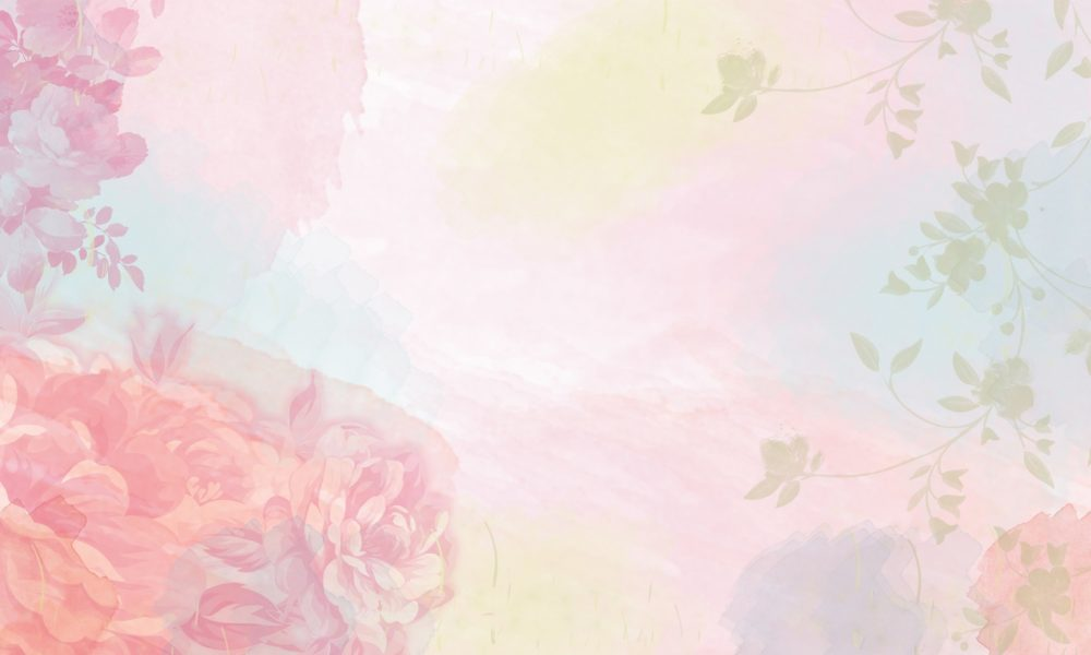 Watercolor flower background - weblium