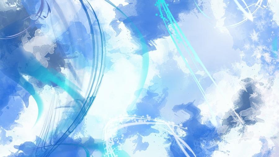 Blue watercolor background - weblium blog