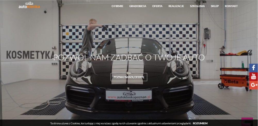 Autoklinika automotive website