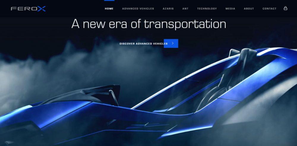 Ferox automotive website