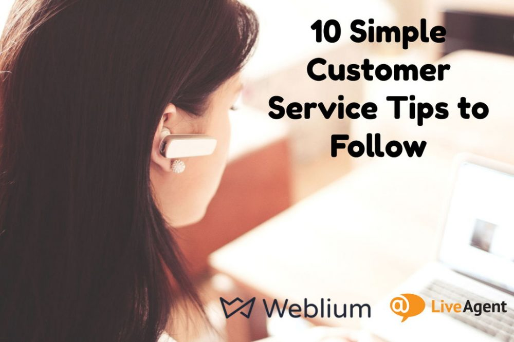 10 Simple Customer Service Tips to Follow