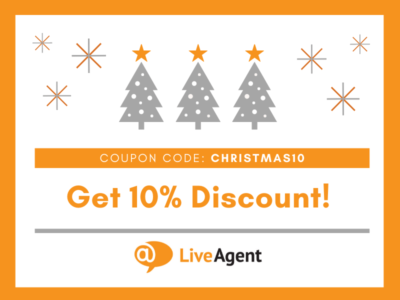 LiveAgent Christmas discount