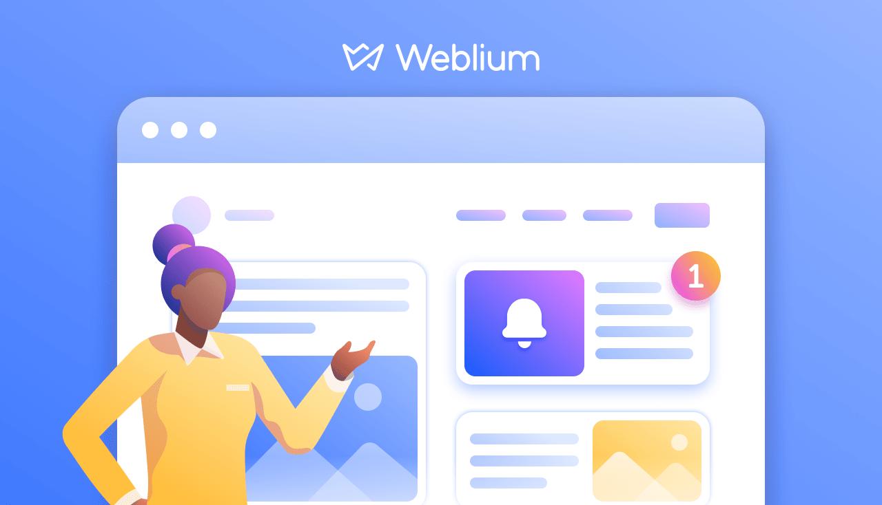 Weblium Product Updates #November 2019