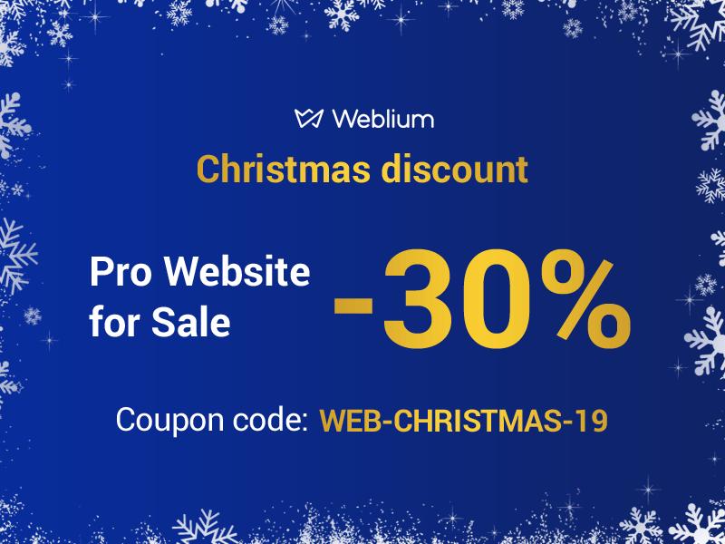 Сhristmas offers - weblium