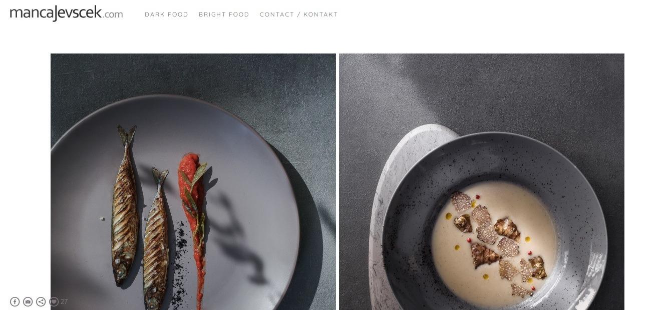 Portfoliobox photography website
