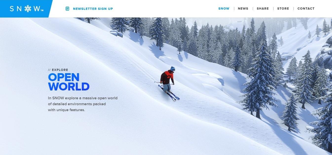 winter background examples - weblium