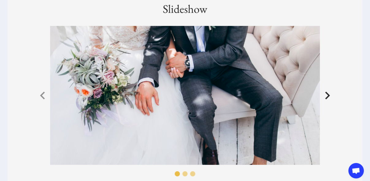 Photographer Website – Wedding Moments