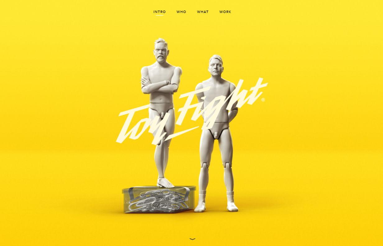 Toy Fight Creative agency - weblium